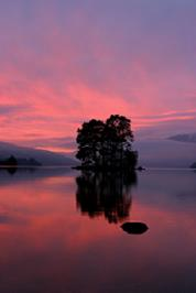 Loch Tay Sunset From Kenmore2